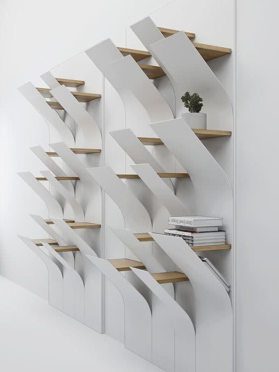 Creative Shelves: 60 Modern and Inspiring Solutions 50