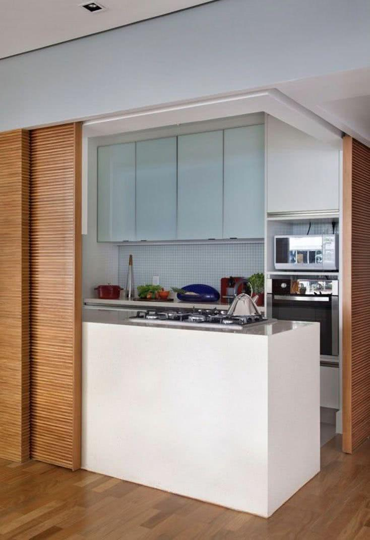 Sliding door: advantages of using and projects with photos 60