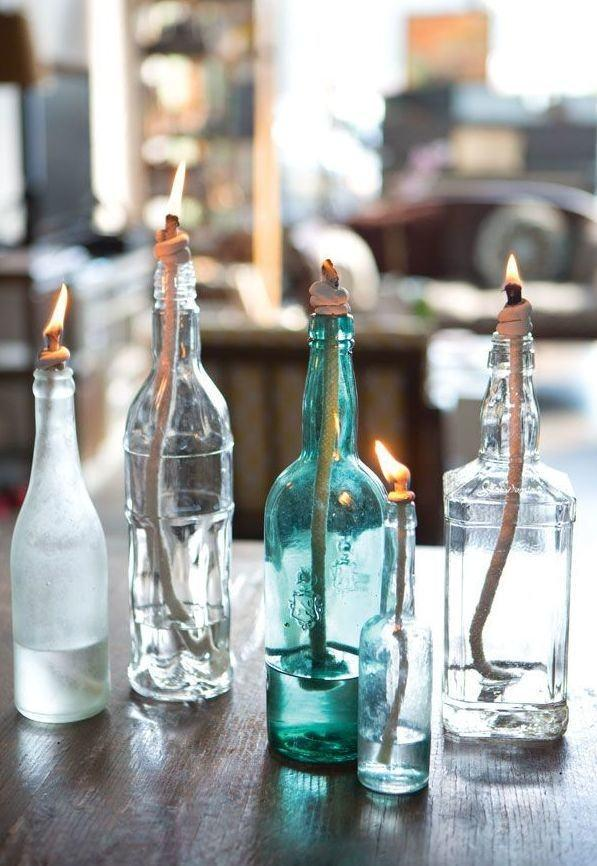Glass Bottle Craft: 80 Amazing Tips and Photos 25
