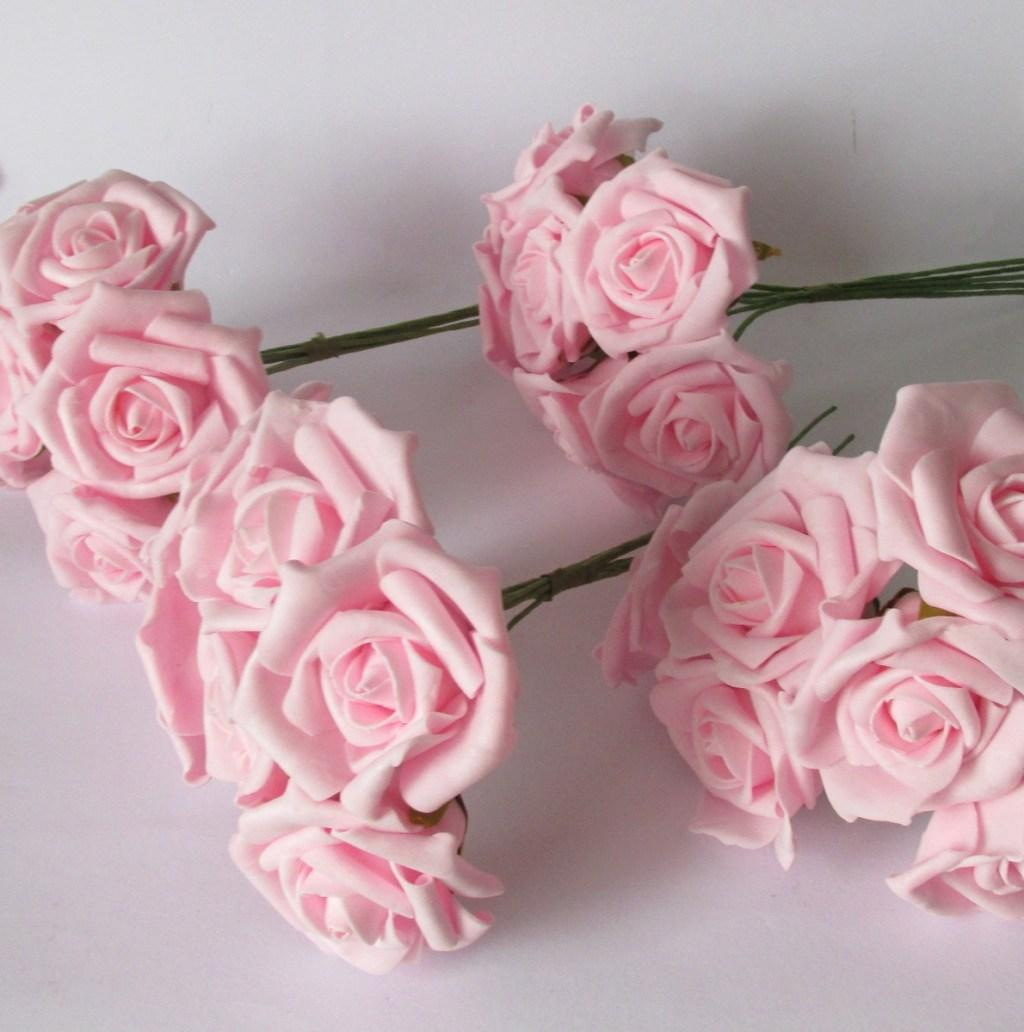Flowers of EVA: 70 ideas, molds and step by step 17