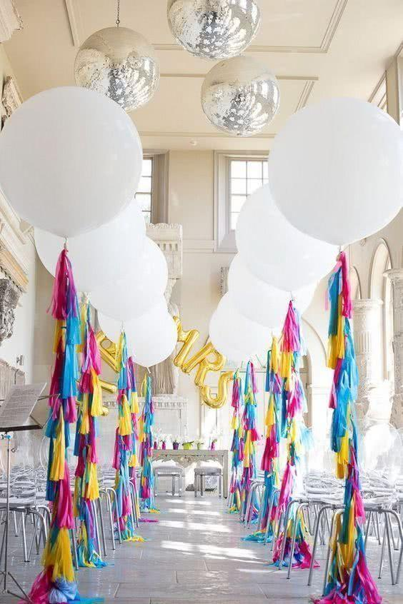Decoration with balloons: 85 inspirations to decorate 4