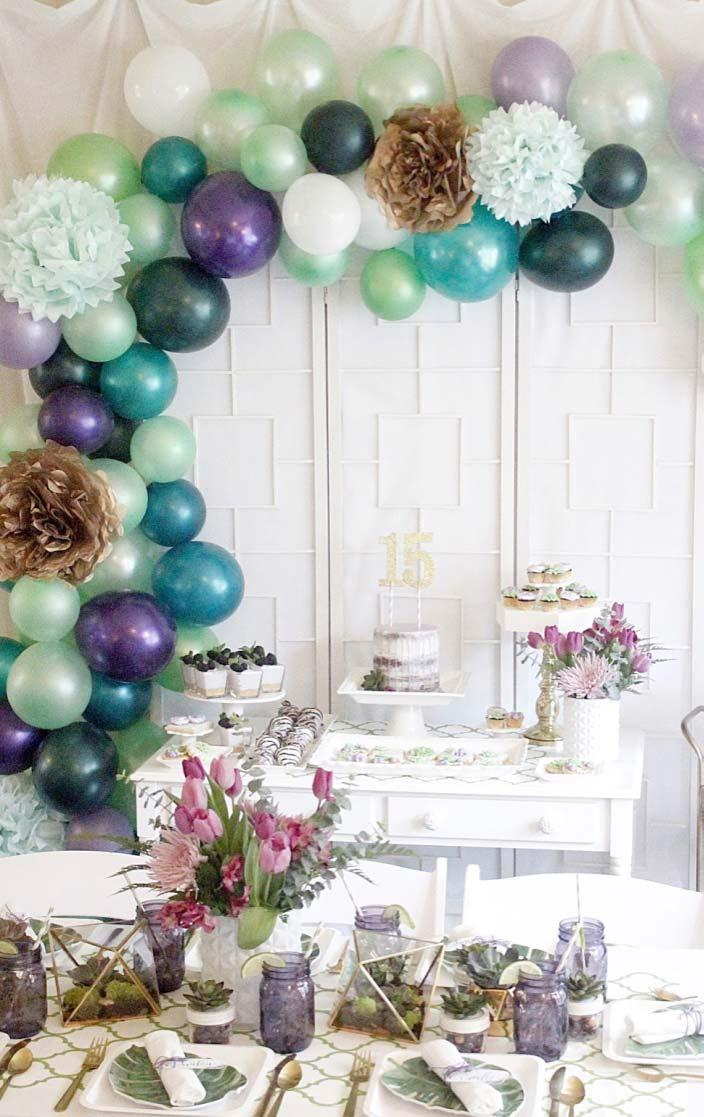 15 Year Party Decoration: Discover Enthusiastic Ideas 10