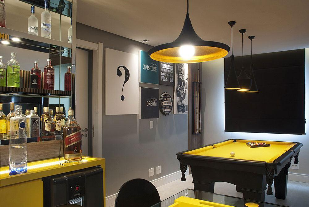 Wall bar: 60 amazing designs, designs and photos 61