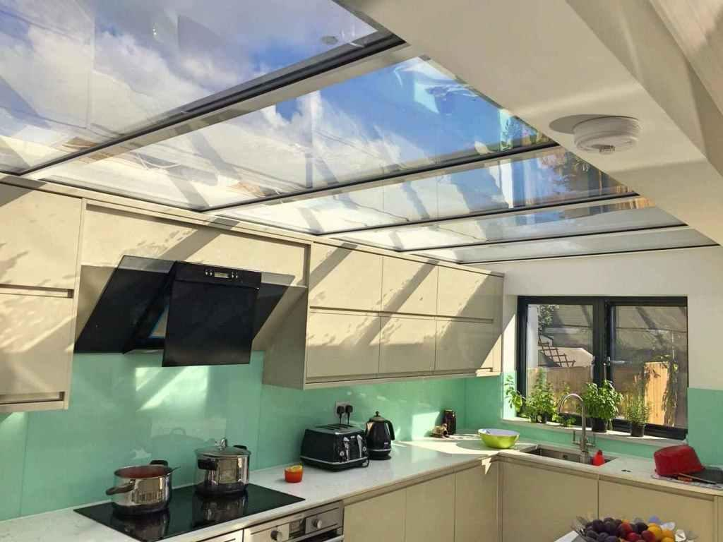 Glass roof: advantages, 60 photos and ideas to be inspired 26