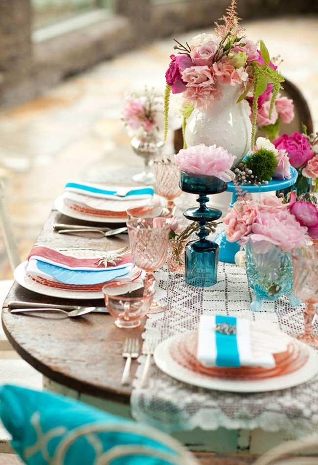 A delicate touch to the event or wedding table