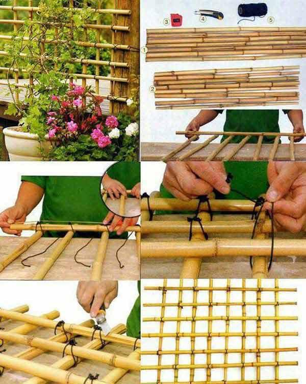 Bamboo Crafts: 60 models, photos and step by step DIY 60