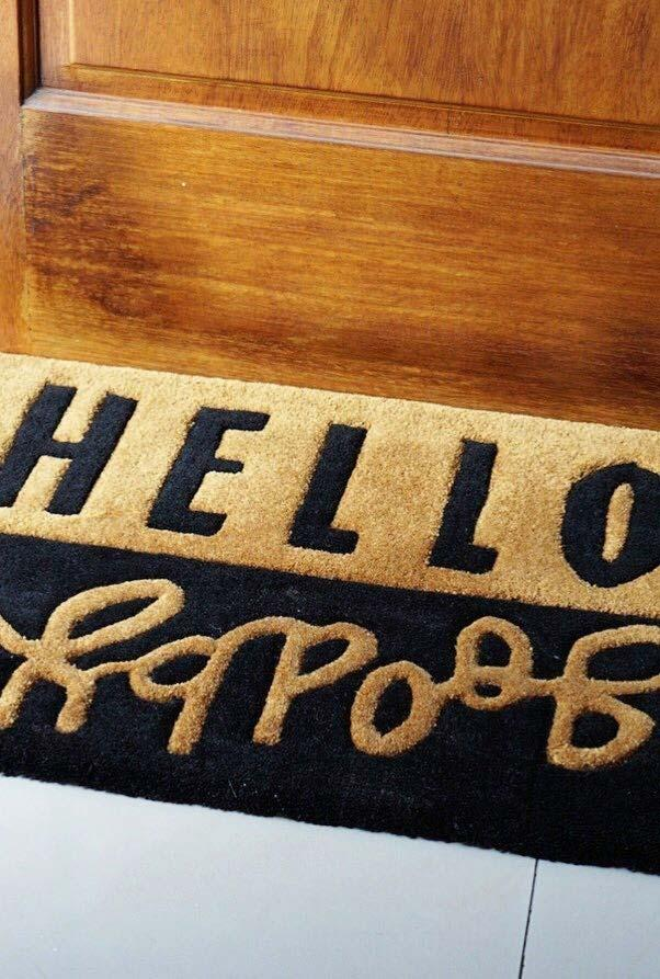 Fun doormats: welcome to brighten your home 23