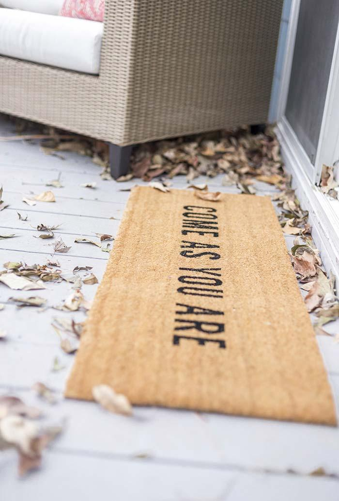 Fun doormats: welcome to brighten your home 20