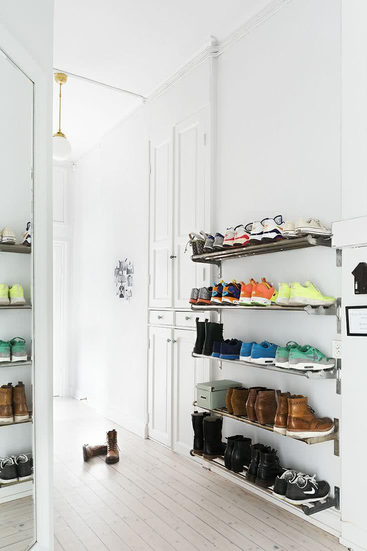 60 ideas and tips on how to organize shoes 51