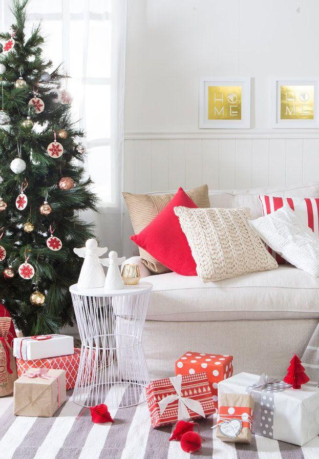 Christmas Cushions: 60 Decorating Ideas and How to Make 47