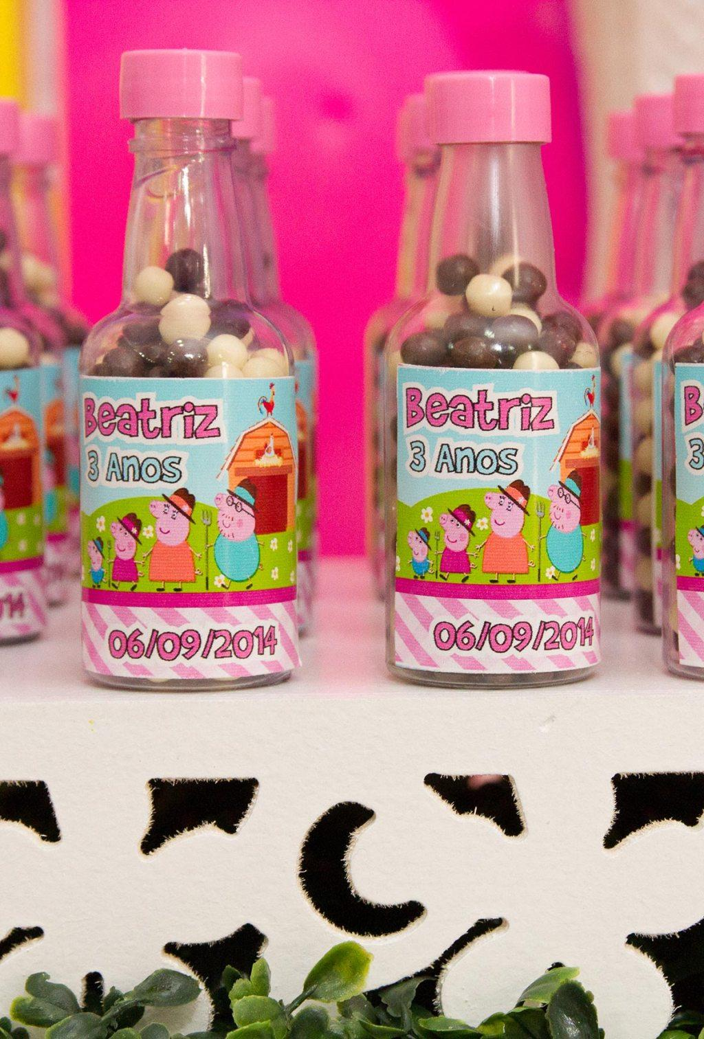 Peppa Pig Souvenirs: 50 decorating ideas and step by step 11