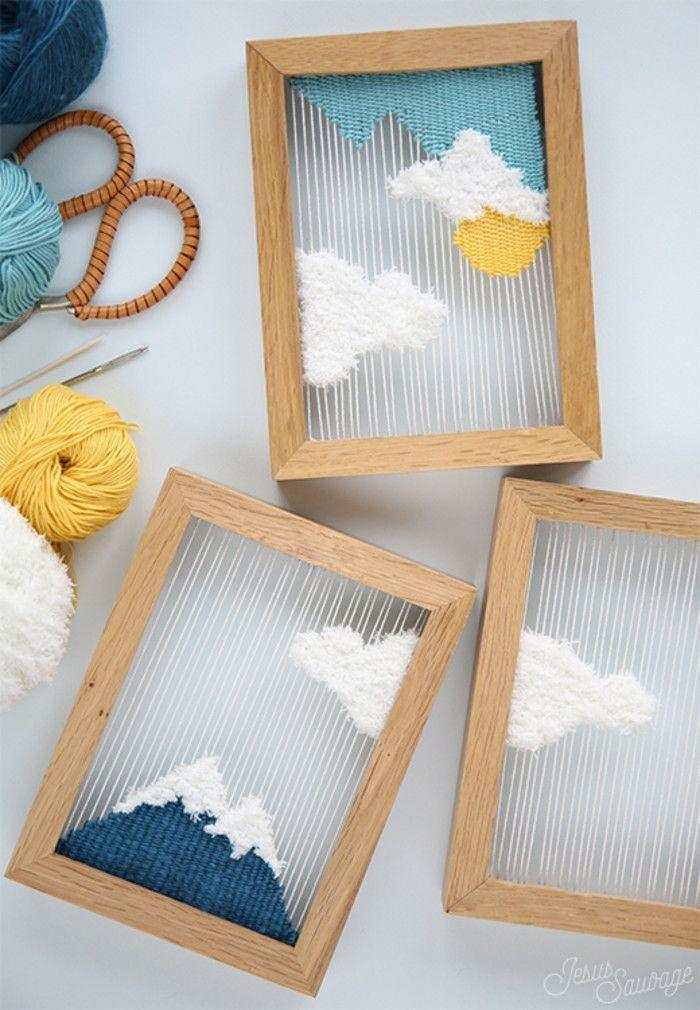 How to make handmade pictures: models, photos and step-by-step 16