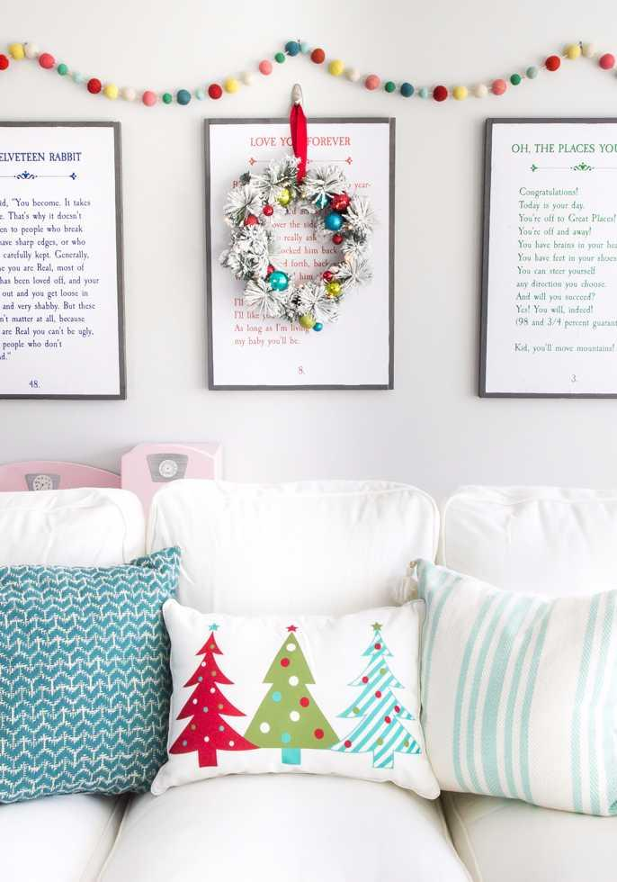 Christmas Cushions: 60 Decorating Ideas and How to Make 7