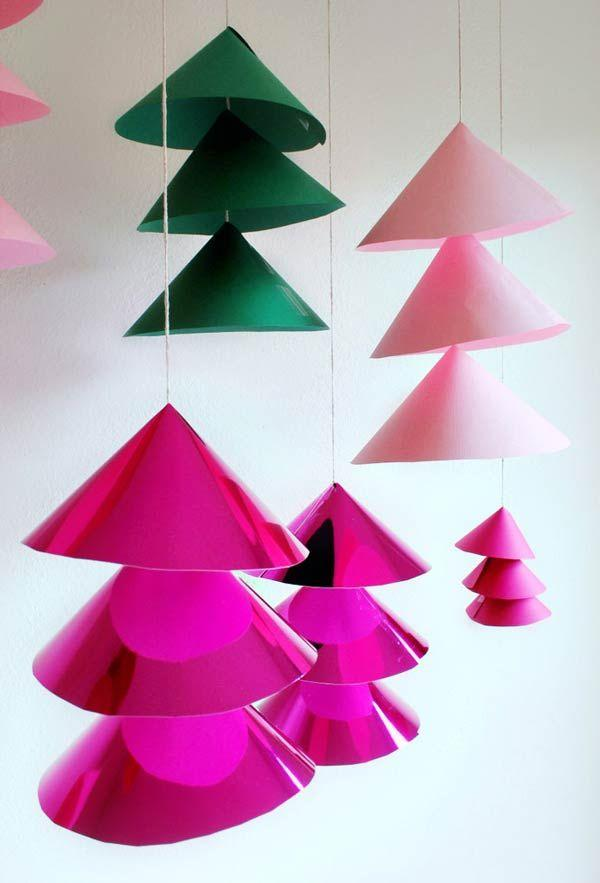 Handcrafted Christmas tree: 65 inspirations and ideas for your production 10