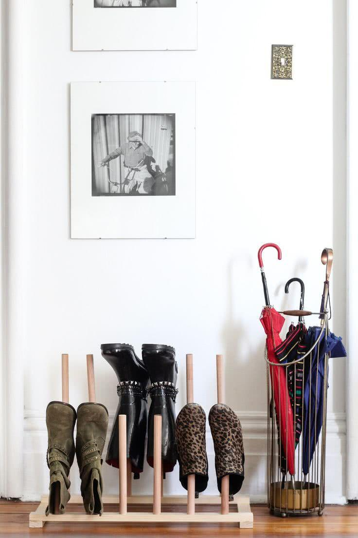 60 ideas and tips on how to organize shoes 2