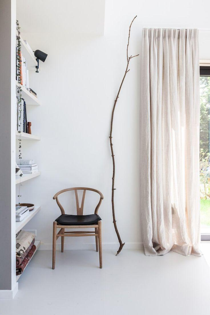 Curtain with a more rustic style