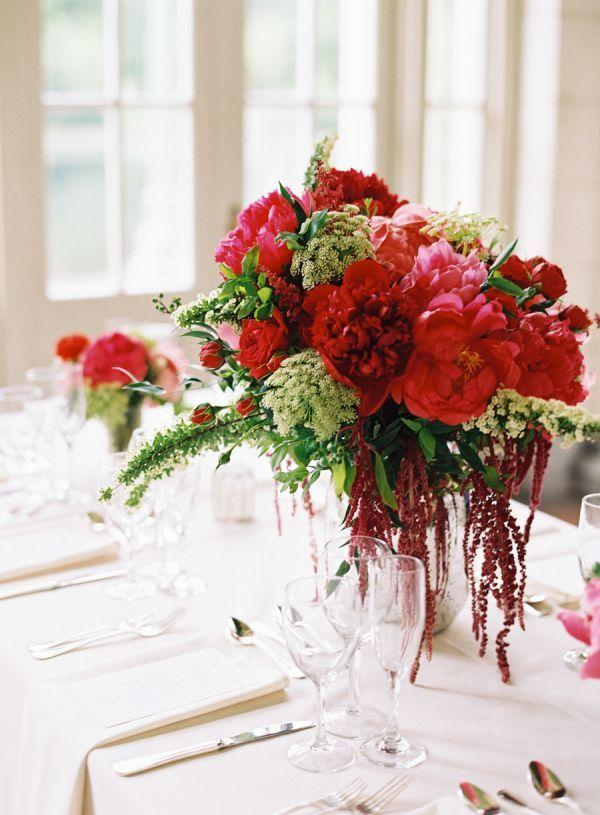 Arrangements for wedding: 70 ideas for table, flowers and decoration 41