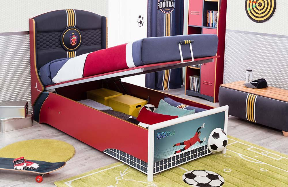 Toys under the bed