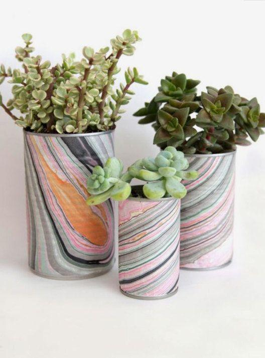 Decorated Cans: 70 Cool Ideas to Do at Home 31
