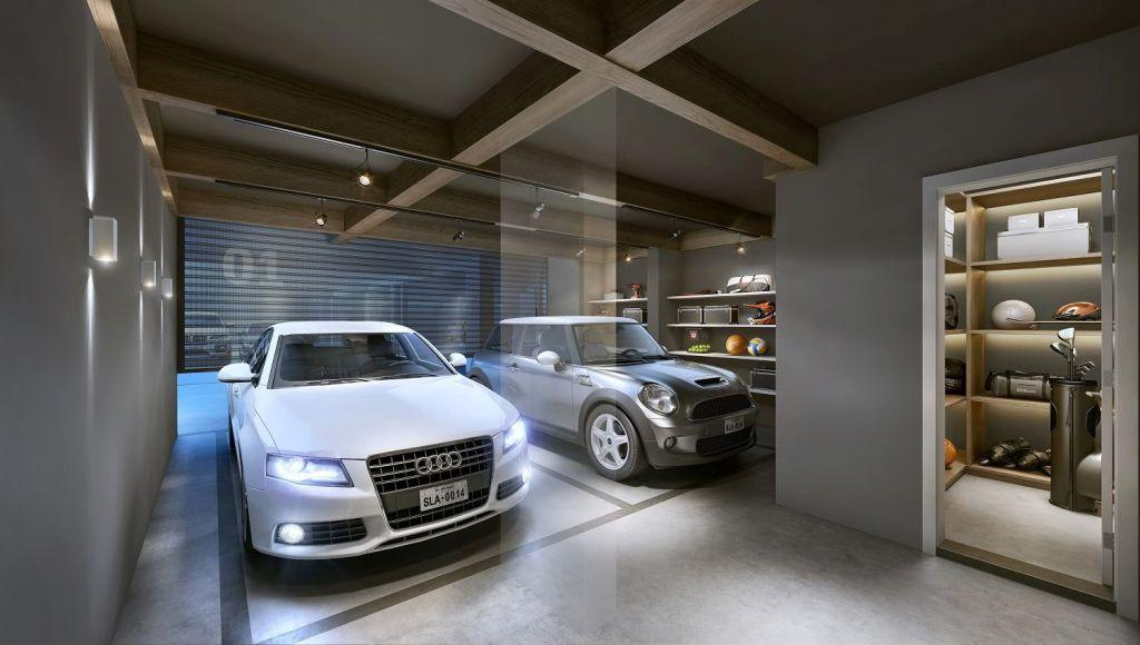 Garage floor: see the main types and ideas to be inspired 34