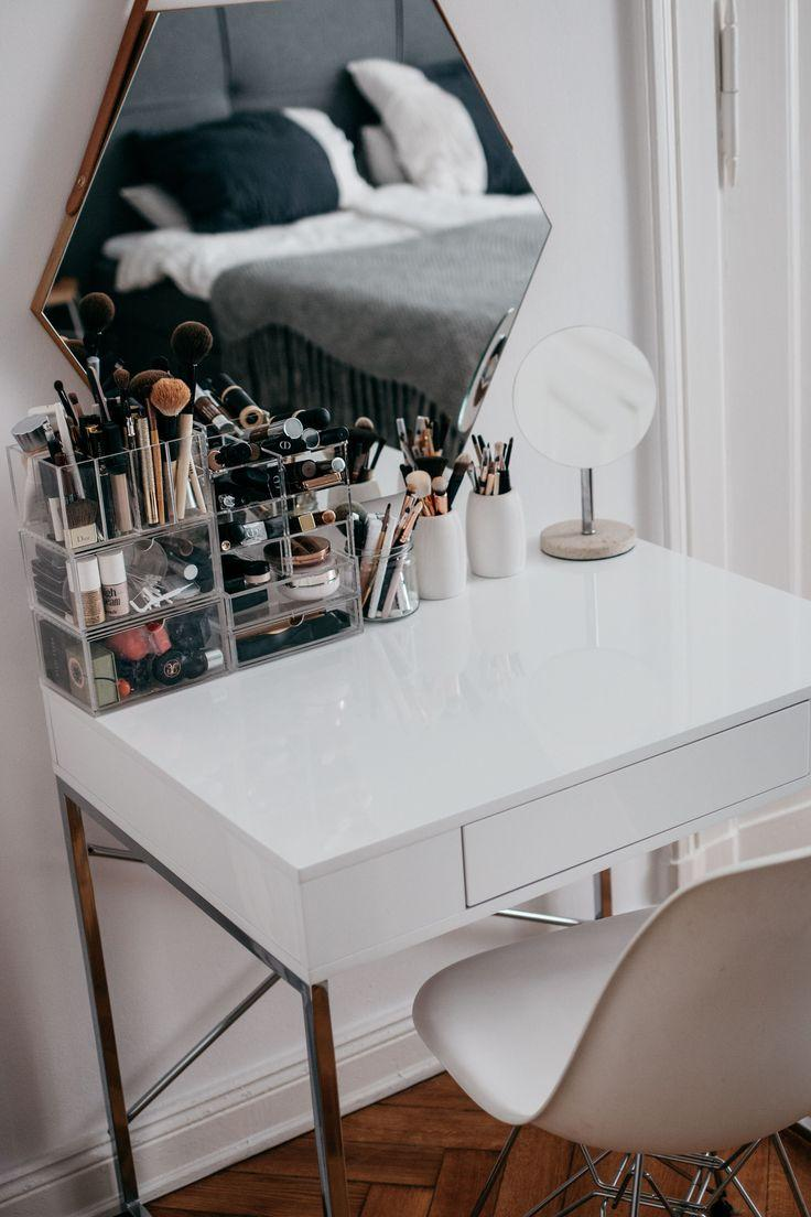 Makeup table: 60 ideas to decorate and organize 32
