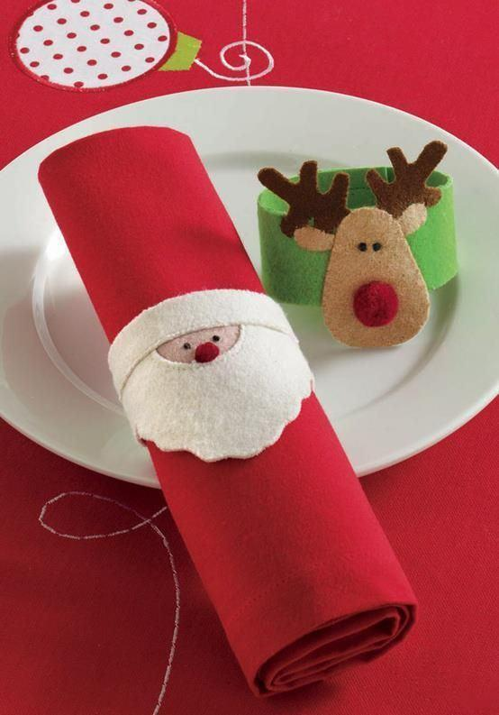 Christmas rings for napkins