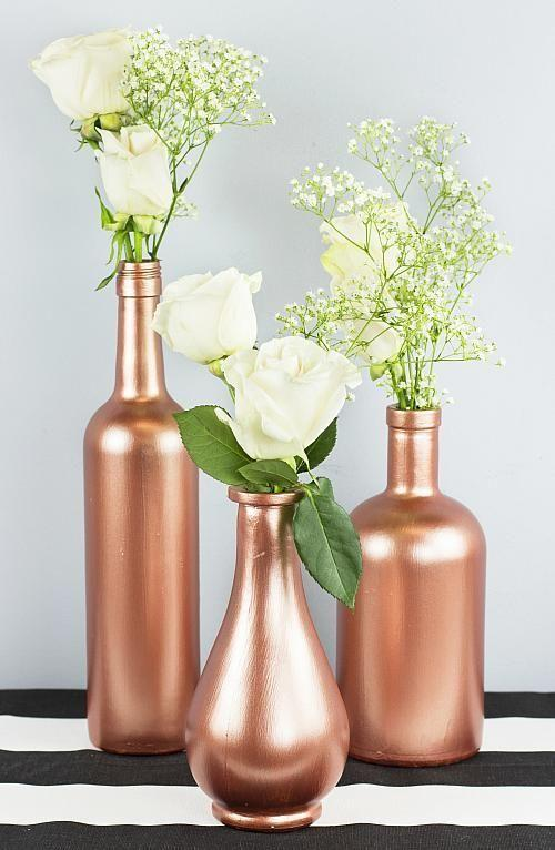 Table Top with Bottle: See Beautiful Ideas to Decorate Table 2