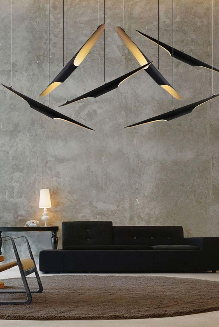 Ceiling mounted PVC luminaires