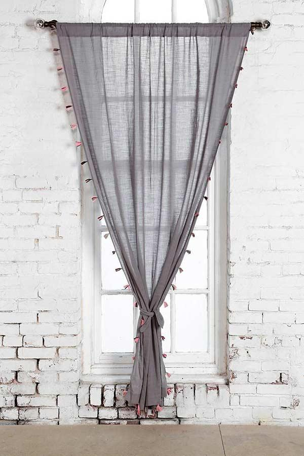 Increase your linen curtain