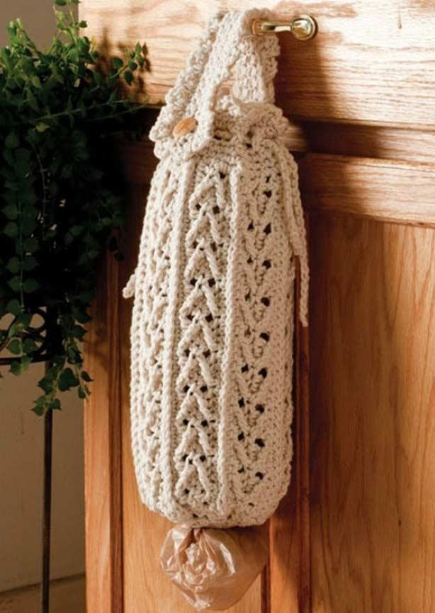 Pull crochet bag: 60 models, ideas and step by step 8
