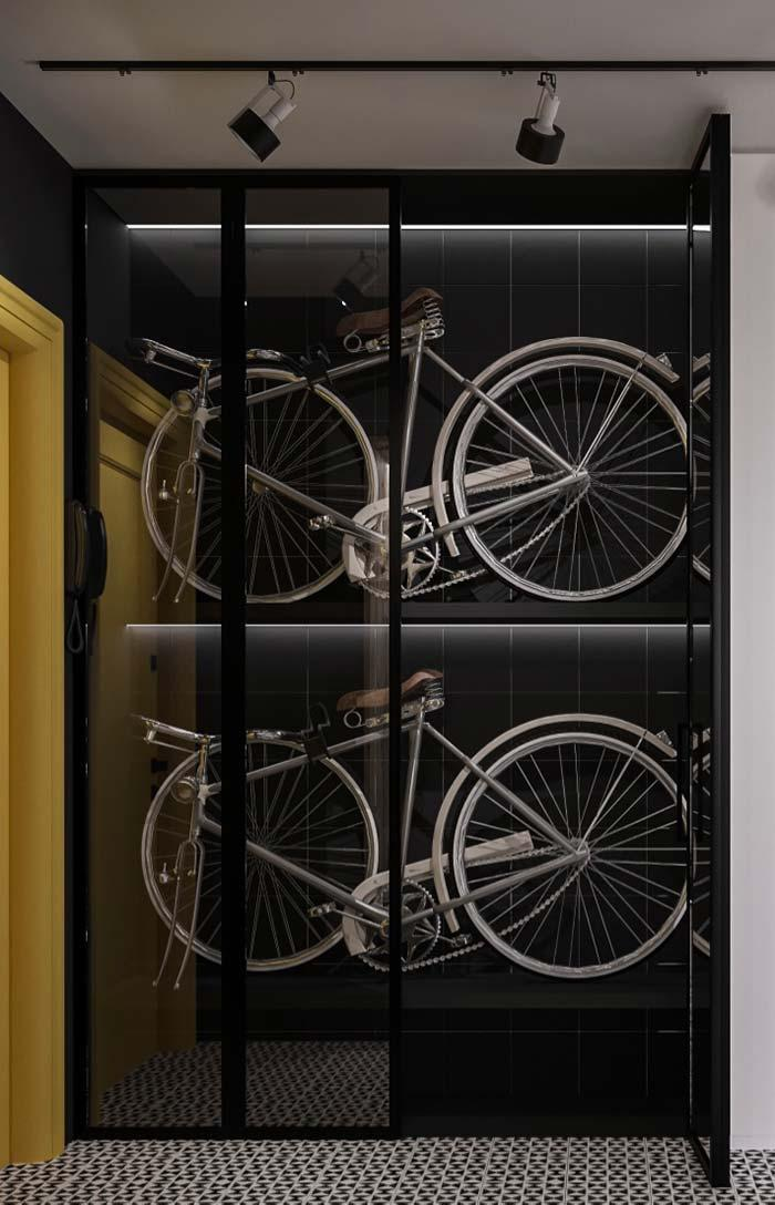 Creative idea: space for bicycles