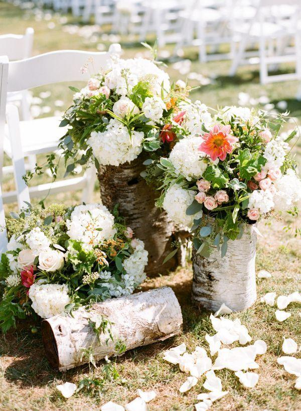 Wedding arrangements: 70 ideas for table, flowers and decoration 61
