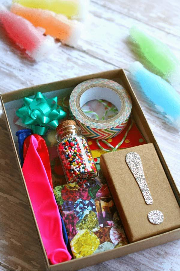Party in the personalized box