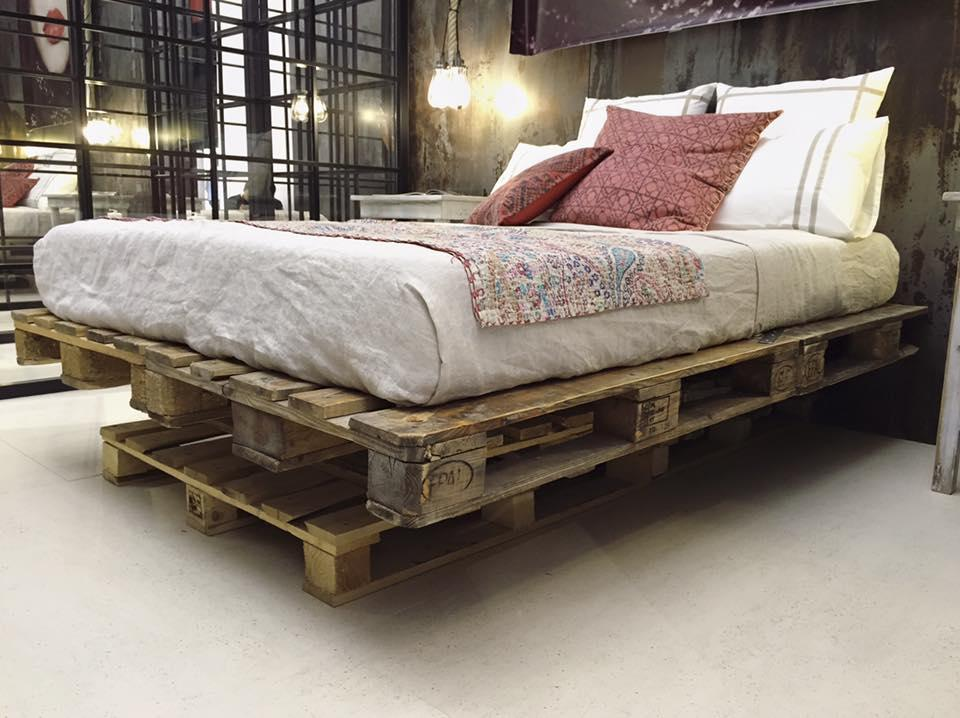 Bed of pallet: 60 models, photos and walkthrough 18
