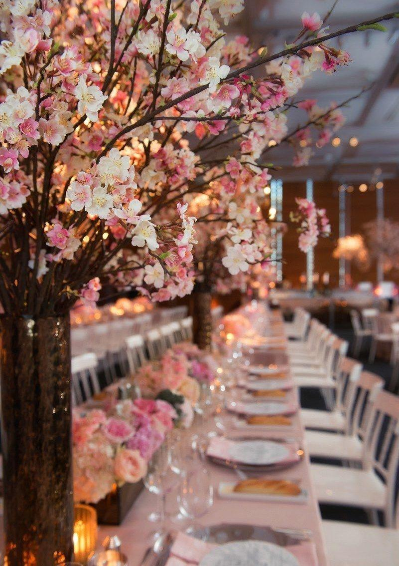 Wedding arrangements: 70 ideas for table, flowers and decoration 24