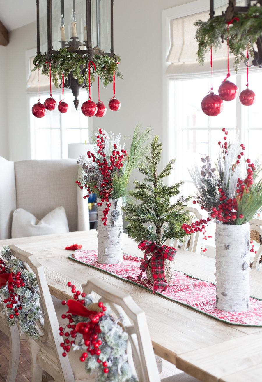 Simple and inexpensive Christmas decoration: 60 perfect ideas to inspire 5