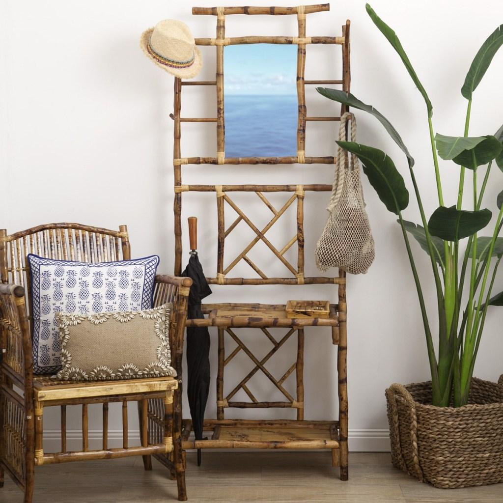 Bamboo Crafts: 60 models, photos and step by step DIY 24