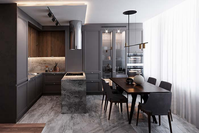 Special lighting for kitchen area