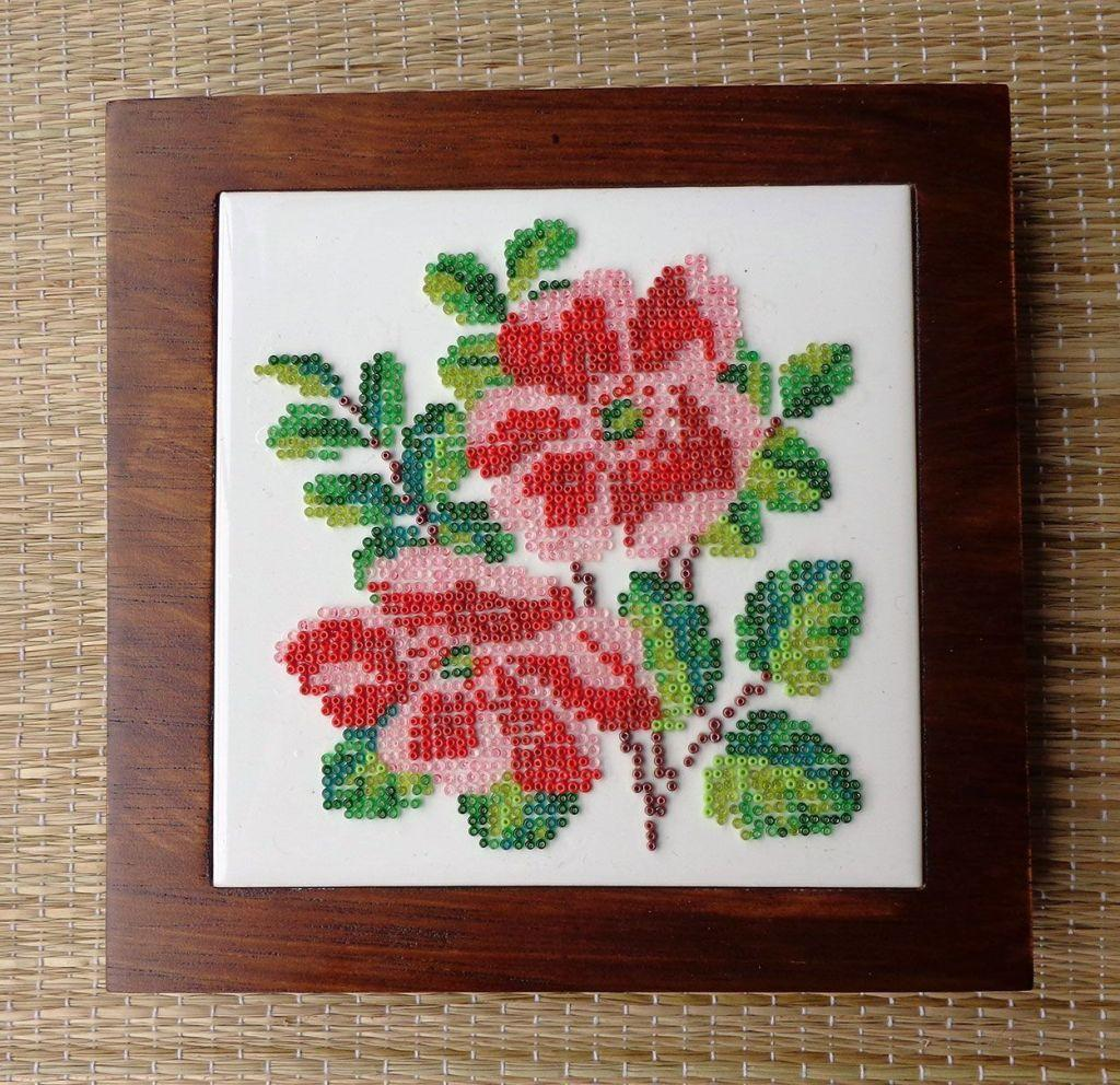 How to make handmade pictures: models, photos and step-by-step 1