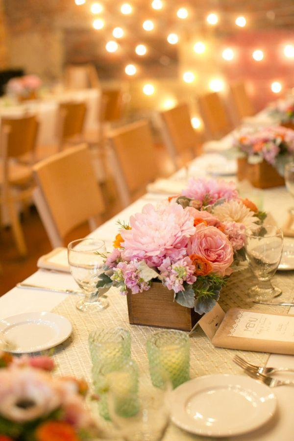 Wedding arrangements: 70 ideas for table, flowers and decoration 39