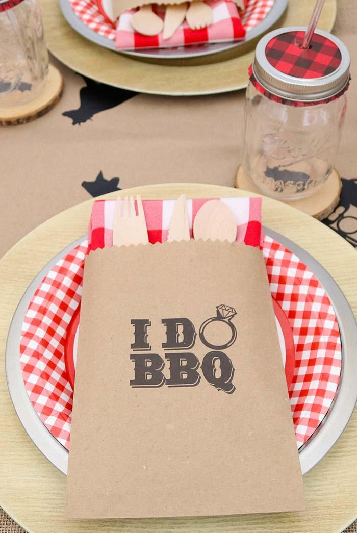 Barbecue to celebrate engagement