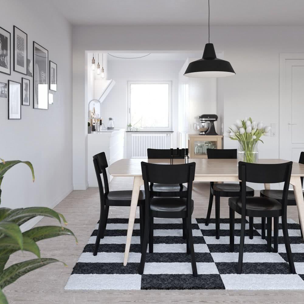 Black and white decoration: 60 ideas of environments to be inspired 9