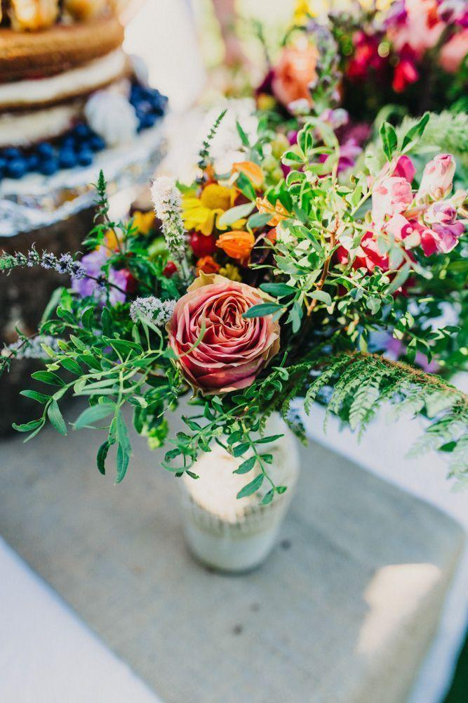 Wedding arrangements: 70 ideas for table, flowers and decoration 45
