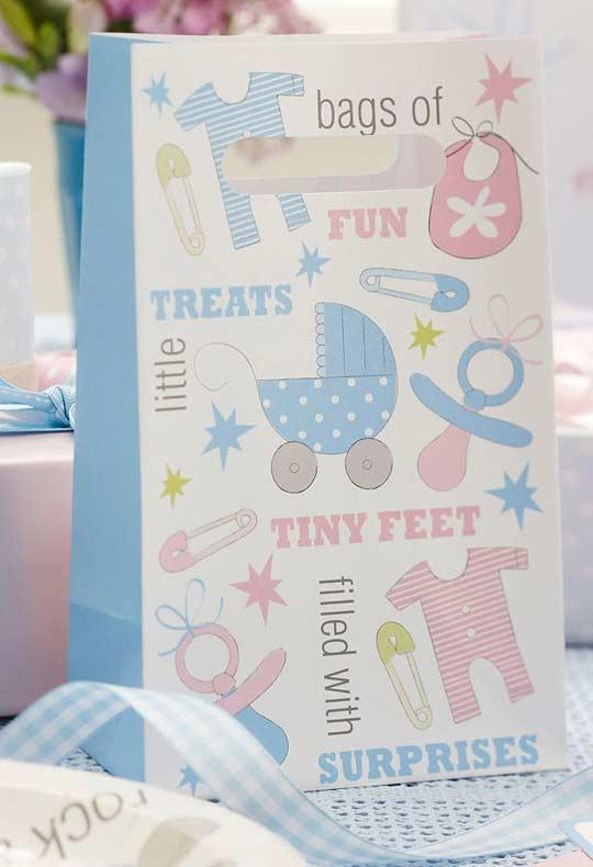 baby shower theme packs for party favors