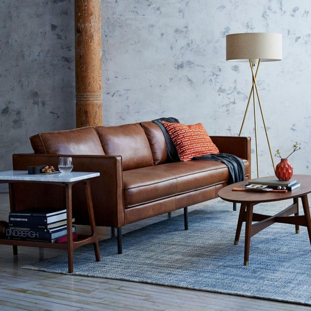 Leather sofa: 70 amazing models to decorate environments 27