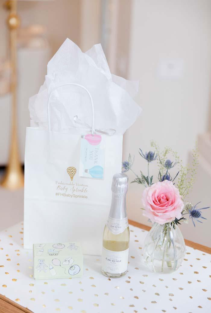 Special remembrance of baby shower